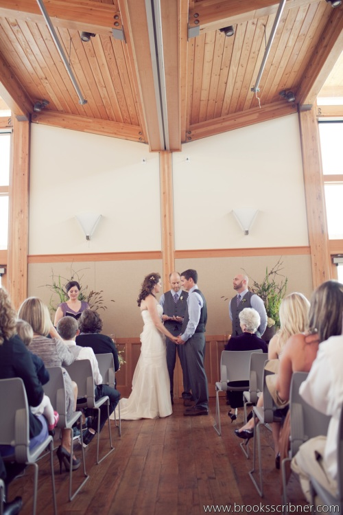 Brooks Scribner Photography Christopher Flowers wedding ceremony beach