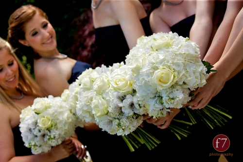 f7 Photography Christopher Flowers wedding Seattle bouquet white bridesmaid