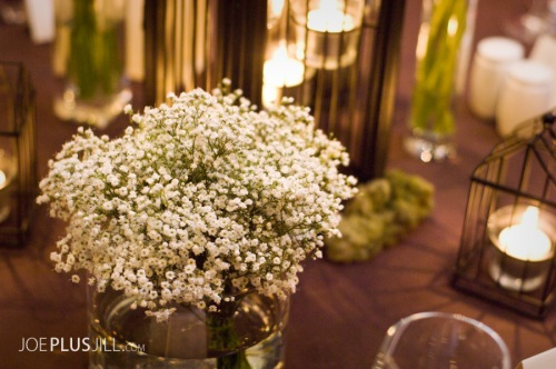 Studio Joe + Jill Photography Christopher Flowers Seattle Wedding Centerpiece