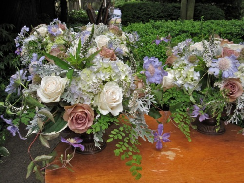 Christopher Flowers Parsons Gardens wedding vintage local organic