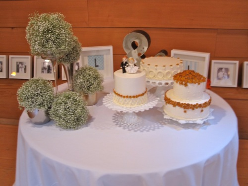 Christopher Flowers wedding Treehouse Point northwest vintage local organic orange grey gray rose succulent dahlia baby's breath cake Seattle