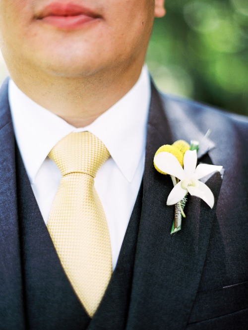 Mastin Studio Christopher Flowers wedding Seattle Sodo Park white yellow orchid hydrangea freesia succulents