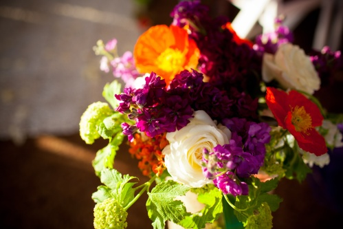 Rubin Photography Christopher Flowers wedding Seattle northwest organic birch garden