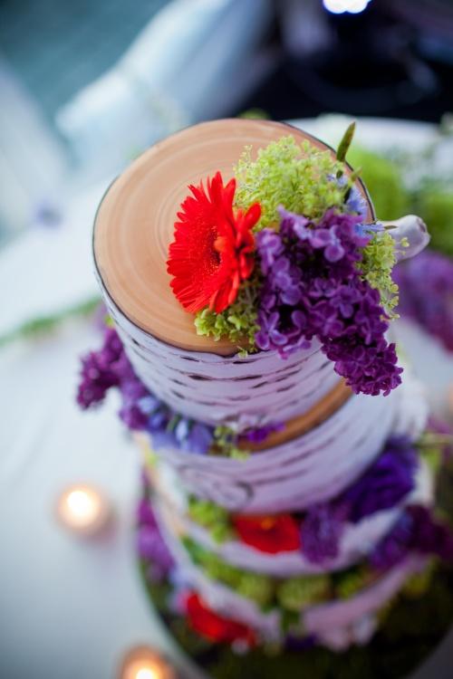 Rubin Photography Christopher Flowers wedding Seattle northwest organic birch garden