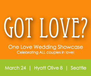 One Love Seattle wedding flower planner photographer caterer