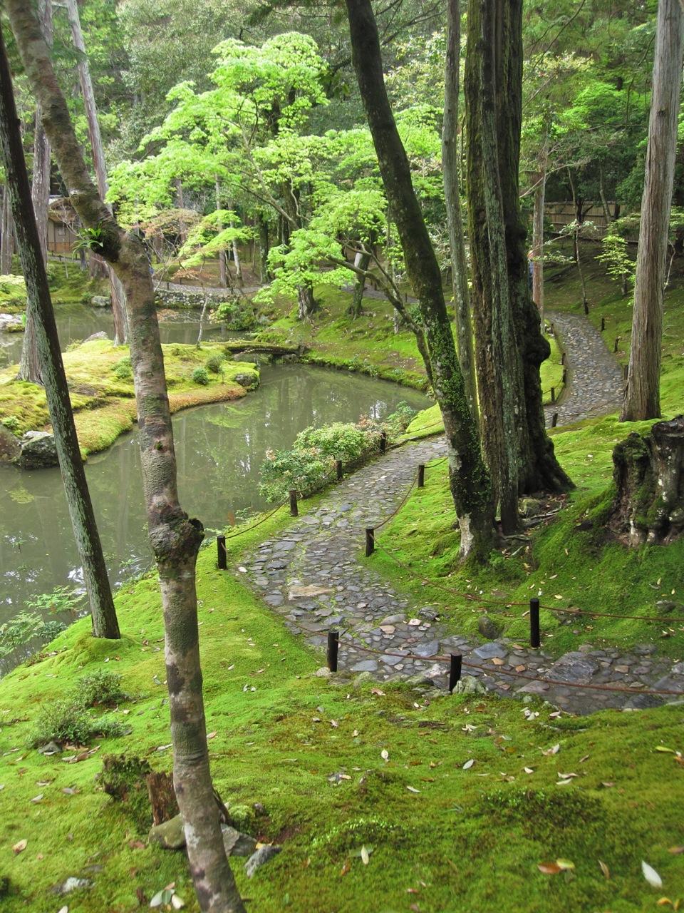 Saihoji moss garden of kyoto christopher knits - Moosgarten kyoto ...