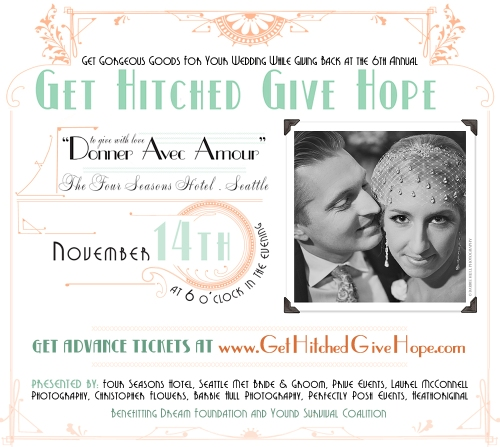 Get Hitched Give Hope charity bridal auction