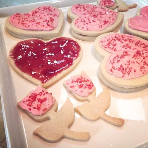 cookie, bake, baking, sugar, frosting, homemade