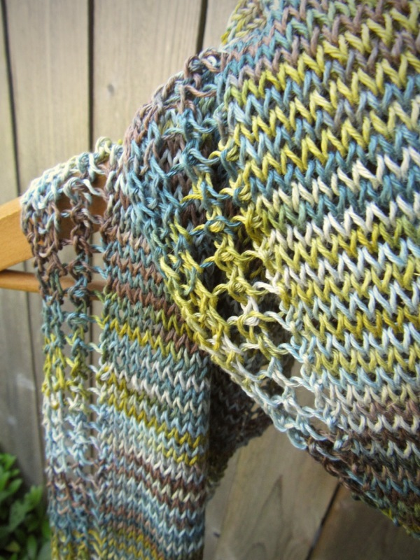 linen scarf knit knitted handmade natural vegan etsy