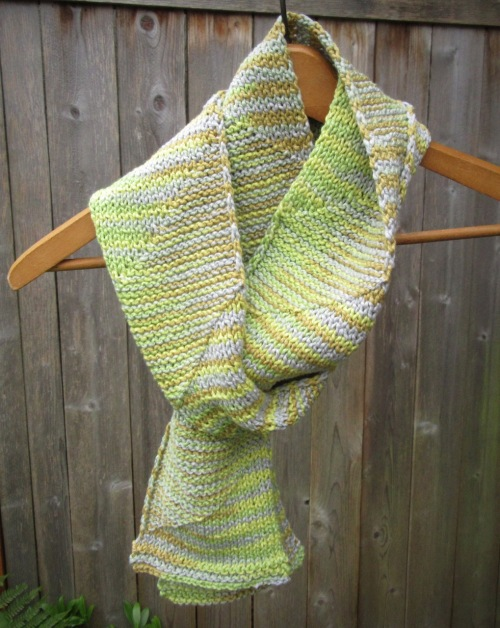 Organic Cotton Scarf Christopher Knits