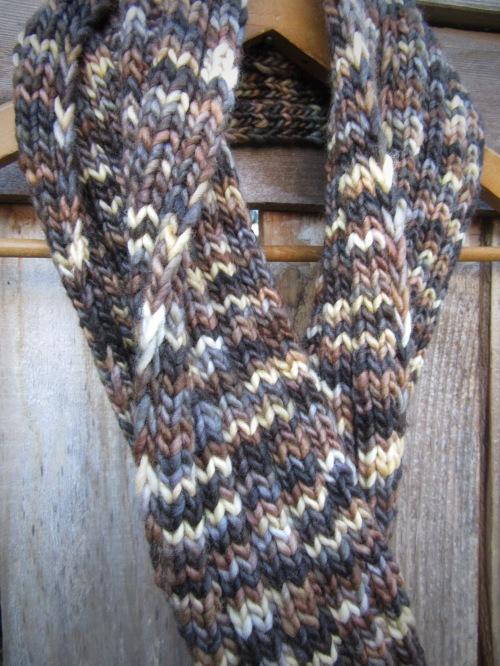 merino wool scarf knit handmade