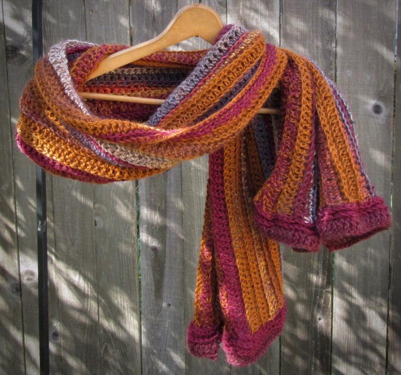 shawl crochet fall autumn alpaca silk wool handmade