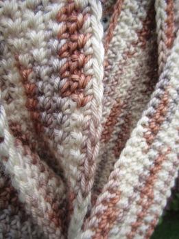 merino cashmere silk crochet scarf handmade christopher knits etsy