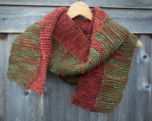 scarf handmade knit etsy merino wool christopher knits