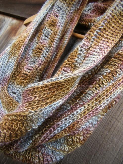Crochet Cowl, Original 'Patina' Design