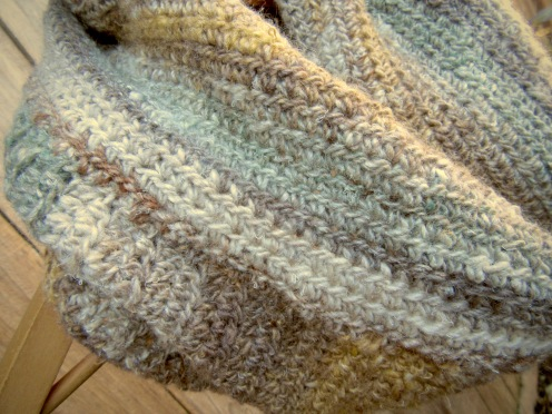 Crochet Cowl (Detail)