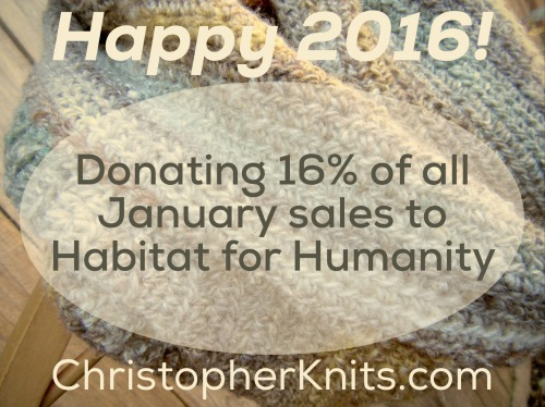 Christopher Knits Etsy Habitat for Humanity